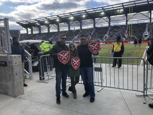 Maurice attended DC Defenders vs. Seattle Dragons - XFL on Feb 8th 2020 via VetTix