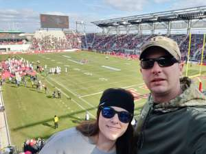 William attended DC Defenders vs. Seattle Dragons - XFL on Feb 8th 2020 via VetTix