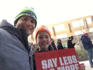 Toby attended DC Defenders vs. Seattle Dragons - XFL on Feb 8th 2020 via VetTix