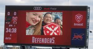 Jimmy attended DC Defenders vs. Seattle Dragons - XFL on Feb 8th 2020 via VetTix
