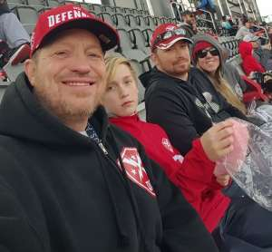 Michele attended DC Defenders vs. Seattle Dragons - XFL on Feb 8th 2020 via VetTix