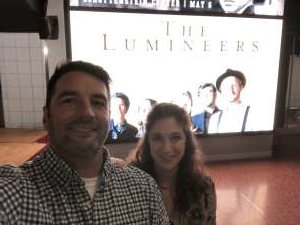 Kevin attended The Lumineers - III the World Tour on Feb 4th 2020 via VetTix