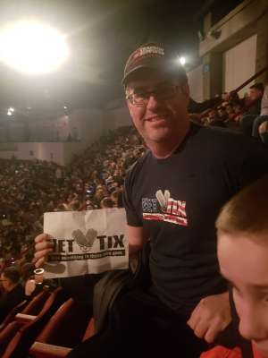 FDR attended The Lumineers - III the World Tour on Feb 4th 2020 via VetTix