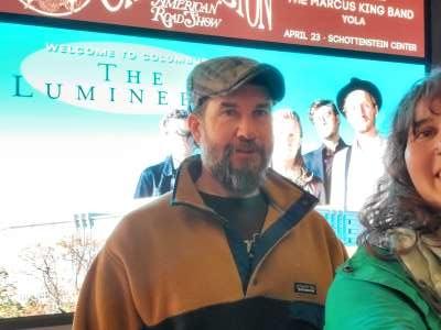 Craig attended The Lumineers - III the World Tour on Feb 4th 2020 via VetTix