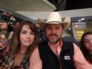 Allen attended San Antonio PRCA Rodeo Followed by Colter Wall on Feb 12th 2020 via VetTix