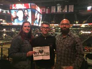 Olivia attended San Antonio PRCA Rodeo Followed by Colter Wall on Feb 12th 2020 via VetTix