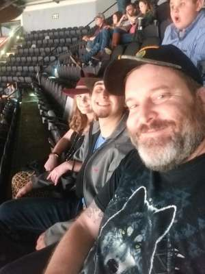 cody attended San Antonio PRCA Rodeo Followed by Colter Wall on Feb 12th 2020 via VetTix