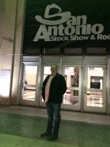 David attended San Antonio PRCA Rodeo Followed by Colter Wall on Feb 12th 2020 via VetTix