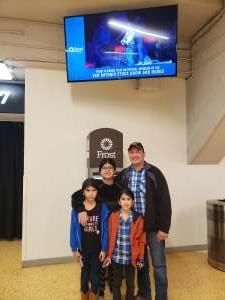 Rodrigo attended San Antonio PRCA Rodeo Followed by Colter Wall on Feb 12th 2020 via VetTix
