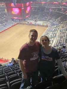 Dustin attended San Antonio PRCA Rodeo Followed by Colter Wall on Feb 12th 2020 via VetTix