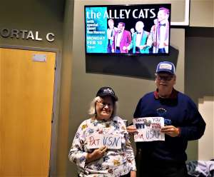 Patricia attended The Alley Cats With Special Guest Rex Havens on Feb 10th 2020 via VetTix