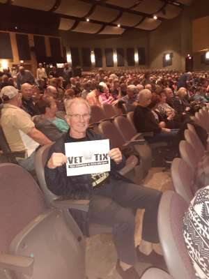 John attended The Alley Cats With Special Guest Rex Havens on Feb 10th 2020 via VetTix