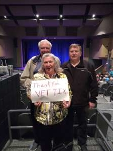 Alfred attended The Alley Cats With Special Guest Rex Havens on Feb 10th 2020 via VetTix