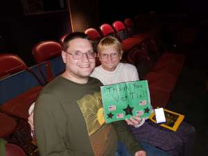 Robert attended Bonnie and Clyde: a Musical Comedy on Feb 13th 2020 via VetTix