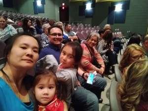 TJ attended Golden Dragon Acrobats on Feb 3rd 2020 via VetTix