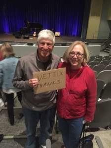 Alan attended Karla Bonoff on Feb 13th 2020 via VetTix