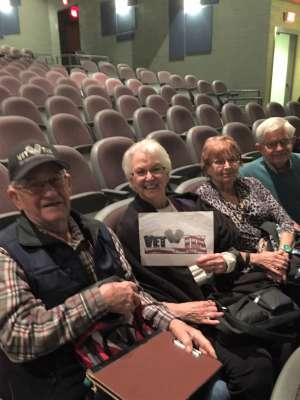 Thomas attended Karla Bonoff on Feb 13th 2020 via VetTix