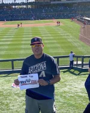 Luis Ortiz attended Colorado Rockies vs. Los Angeles Angels - MLB ** Spring Training ** on Mar 1st 2020 via VetTix