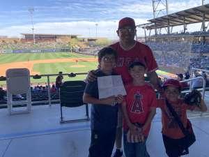 Andrew attended Colorado Rockies vs. Los Angeles Angels - MLB ** Spring Training ** on Mar 1st 2020 via VetTix