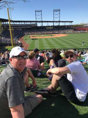 bryan attended Colorado Rockies vs. Los Angeles Angels - MLB ** Spring Training ** on Mar 1st 2020 via VetTix