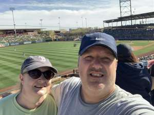 Dave attended Colorado Rockies vs. Los Angeles Angels - MLB ** Spring Training ** on Mar 1st 2020 via VetTix