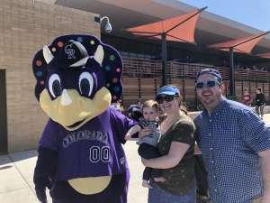 Stan attended Colorado Rockies vs. Los Angeles Angels - MLB ** Spring Training ** on Mar 1st 2020 via VetTix