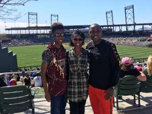 EJ attended Colorado Rockies vs. Los Angeles Angels - MLB ** Spring Training ** on Mar 1st 2020 via VetTix