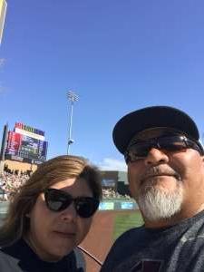 Ray attended Colorado Rockies vs. Los Angeles Angels - MLB ** Spring Training ** on Mar 1st 2020 via VetTix