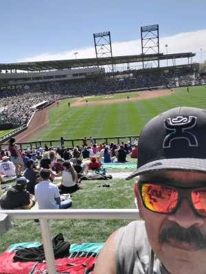 Deannah  attended Colorado Rockies vs. Los Angeles Angels - MLB ** Spring Training ** on Mar 1st 2020 via VetTix