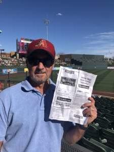 Ray Whit attended Colorado Rockies vs. Los Angeles Angels - MLB ** Spring Training ** on Mar 1st 2020 via VetTix