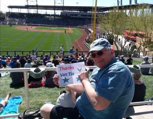 Rich attended Colorado Rockies vs. Los Angeles Angels - MLB ** Spring Training ** on Mar 1st 2020 via VetTix