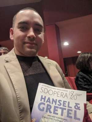 Hector attended Hansel and Gretel on Feb 8th 2020 via VetTix