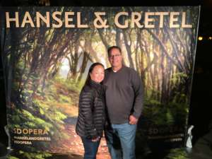 MICHAEL attended Hansel and Gretel on Feb 11th 2020 via VetTix