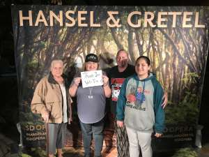 Rachael attended Hansel and Gretel on Feb 11th 2020 via VetTix