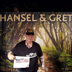 Gerald attended Hansel and Gretel on Feb 11th 2020 via VetTix