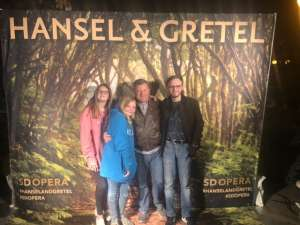 Nate attended Hansel and Gretel on Feb 11th 2020 via VetTix