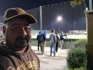Arthur attended California Baptist University Lancers vs. UC Riverside - NCAA Men's Baseball on Feb 23rd 2020 via VetTix