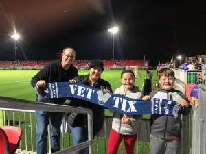 Burton attended Phoenix Rising FC vs. Real Salt Lake - USL on Feb 22nd 2020 via VetTix