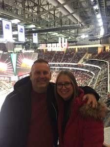 Bradley & Holly attended New Jersey Devils vs. Detroit Red Wings - NHL on Feb 13th 2020 via VetTix