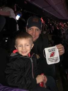 James attended New Jersey Devils vs. Detroit Red Wings - NHL on Feb 13th 2020 via VetTix