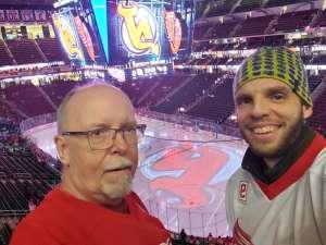 Michael attended New Jersey Devils vs. Detroit Red Wings - NHL on Feb 13th 2020 via VetTix