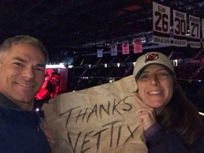 Jason attended New Jersey Devils vs. Detroit Red Wings - NHL on Feb 13th 2020 via VetTix