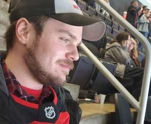 Amanda attended New Jersey Devils vs. Detroit Red Wings - NHL on Feb 13th 2020 via VetTix