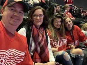 Harley attended New Jersey Devils vs. Detroit Red Wings - NHL on Feb 13th 2020 via VetTix