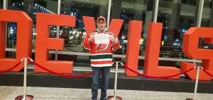 Raymond attended New Jersey Devils vs. Detroit Red Wings - NHL on Feb 13th 2020 via VetTix