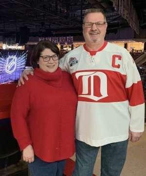 Dawn attended New Jersey Devils vs. Detroit Red Wings - NHL on Feb 13th 2020 via VetTix
