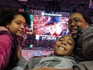 Lakia attended New Jersey Devils vs. Detroit Red Wings - NHL on Feb 13th 2020 via VetTix