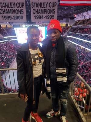 Richmond attended New Jersey Devils vs. Detroit Red Wings - NHL on Feb 13th 2020 via VetTix