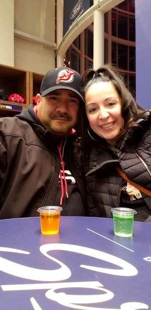 JuanJose attended New Jersey Devils vs. Detroit Red Wings - NHL on Feb 13th 2020 via VetTix