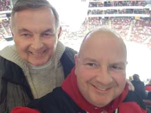 Kevin attended New Jersey Devils vs. Detroit Red Wings - NHL on Feb 13th 2020 via VetTix